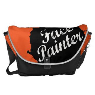 Jack Splat Orange Messenger Bag