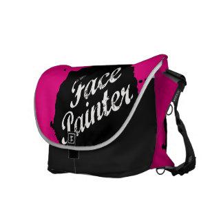 Jack Splat Pink Courier Bag