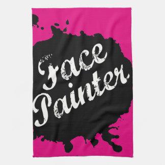Jack Splat Pink Hand Towel