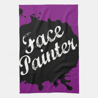 Jack Splat Purple Kitchen Towel