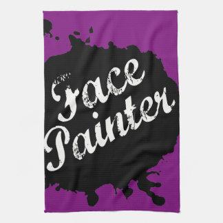 Jack Splat Purple Towel