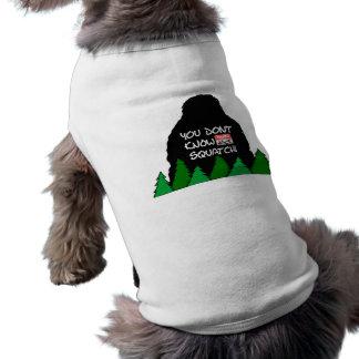 Jack Squatch Dog T-shirt