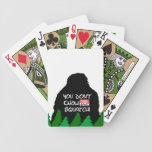 Jack Squatch Poker Deck