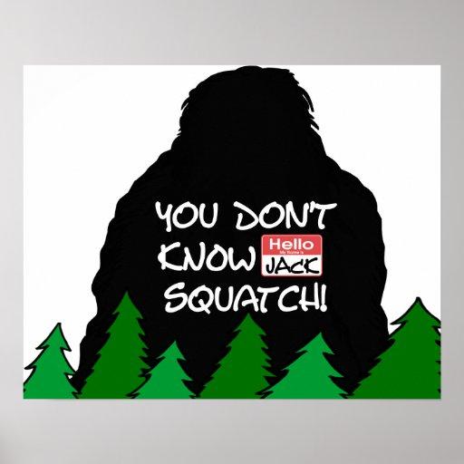 Jack Squatch Print