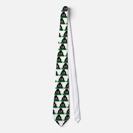 Jack Squatch Tie