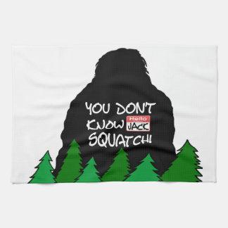 Jack Squatch Towel