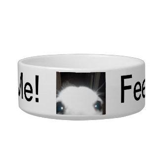"""Jack the Dog """"Feed Me"""" dog bowl"""