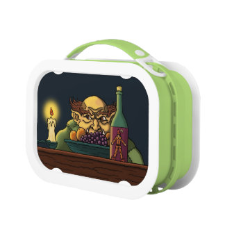 jack the giant fairytale illustration lunchboxes