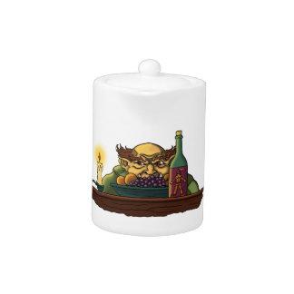 jack the giant fairytale teapot