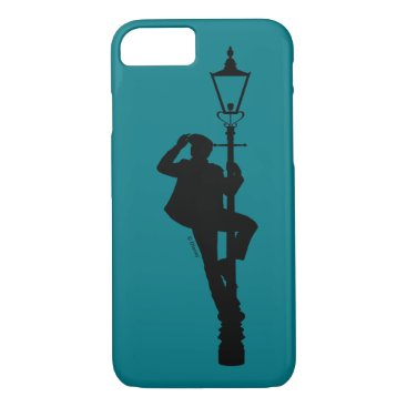 Jack the Lamplighter Silhouette iPhone 8/7 Case
