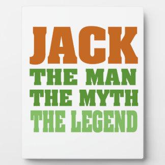 Jack, the Man, the Myth, the Legend Plaque