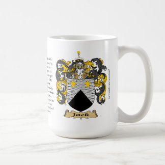 Jack, the Origin, the Meaning and the Crest Coffee Mug