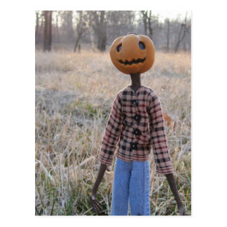 Jack the Pumpkin Head Postcard
