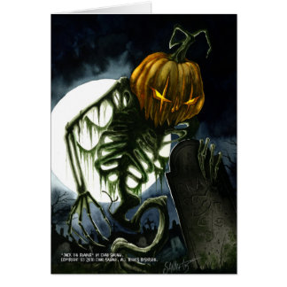 Jack the Reaper Greeting Card