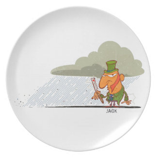 Jack the Ripper Dinner Plate