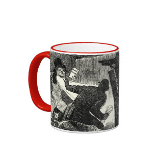 Jack the Ripper - Is Detection A Failure, 1888 Ringer Coffee Mug