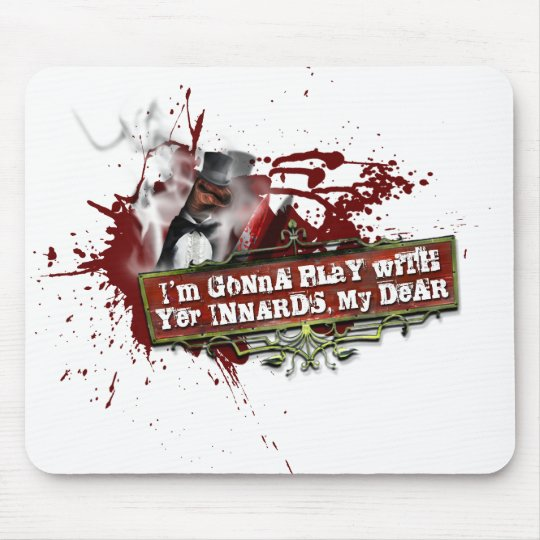Jack the Ripper Sock Puppet Mouse Pad