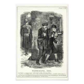 Jack the Ripper - Whitechapel, 1888 Photo Print