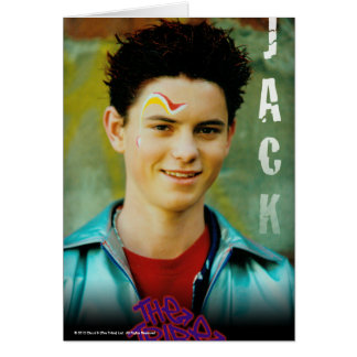 Jack The Tribe Greeting Card
