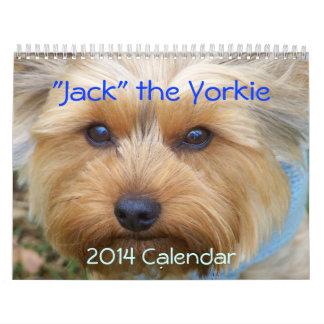 Jack the Yorkie - 2014 Calendar