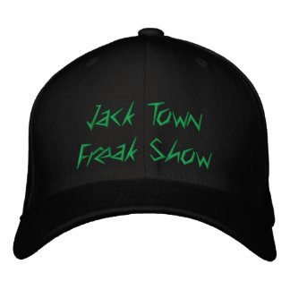 Jack Town Freak Show Hat Embroidered Hats