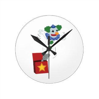 Jack Toy Round Clock