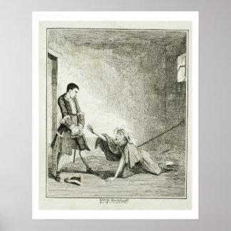 Jack visits his mother in Bethlehem Hospital, Lond Poster