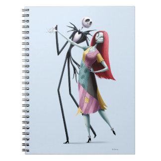 Jack y baile de Sally Spiral Notebooks