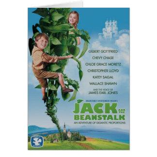 Jack y el Beanstalk Tarjetón
