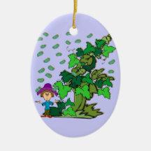 Jack y el ornamento del Beanstalk Ornamentos Para Reyes Magos