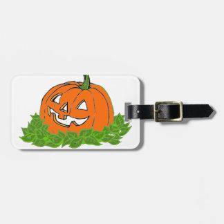 Jack y hojas etiquetas bolsa