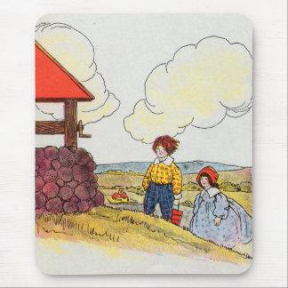 Jack y Jill fueron encima de la colina Mousepads