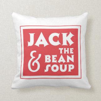 Jack y la sopa de habas cojín