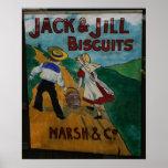 Jack y poster de la publicidad del vintage de las