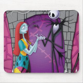 Jack y Sally que llevan a cabo las manos Alfombrilla De Ratones