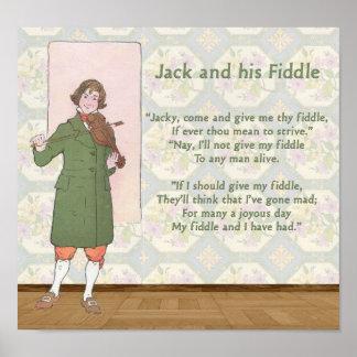 Jack y su violín poster