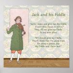 Jack y su violín póster