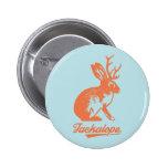 Jackalope 缶バッチ 5.7cm 丸型バッジ 2 inch round button