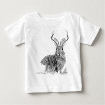 Jackalope Baby T-Shirt