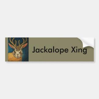 Jackalope Bumper Sticker