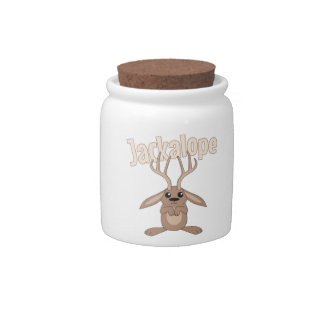 Jackalope Candy Jar