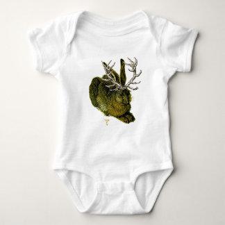 Jackalope del siglo XVI Body Para Bebé