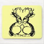 Jackalope Love Mousepad