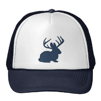 Jackalope Navy Blue Trucker Hat