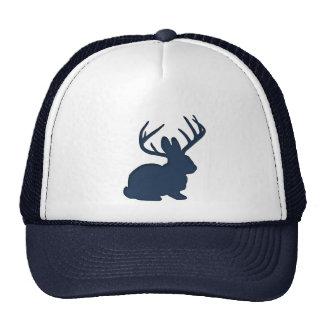 Jackalope Navy Blue Trucker Hat