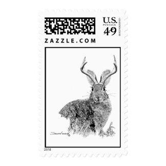 Jackalope Stamps