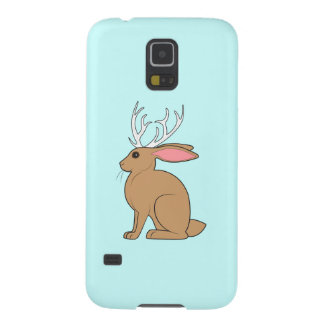 Jackalope: Rabbit with Antlers Galaxy S5 Cover