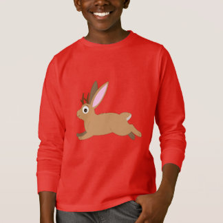 Jackalope: Rabbit with Antlers T-Shirt