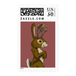 Jackalope Stamp