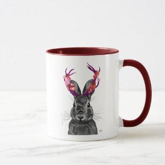 Jackalope with Pink Antlers 2 Mug